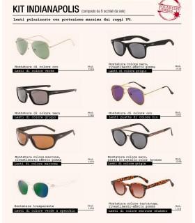 Occhiali da Sole El Charro Kit indianapolis Expo da 8 pz. modelli assortiti