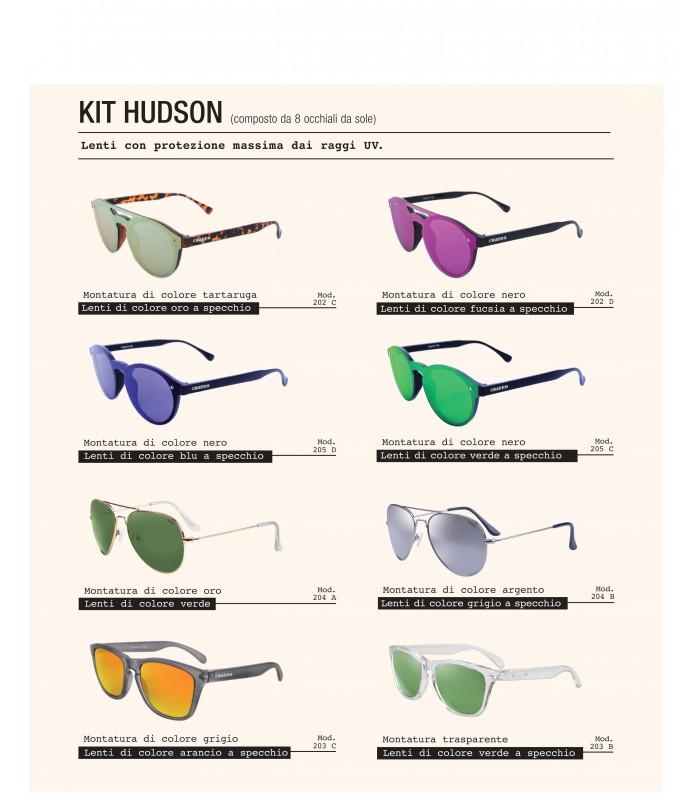 Occhiali da Sole El Charro Kit Hudson Expo da 8 pz. modelli assortiti