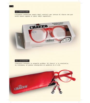 Occhiali da Lettura El Charro Mod. Main Expo da 24 pz. assortito con 4 colori