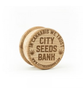 Grinder in Legno 2 Parti City Seeds Bank