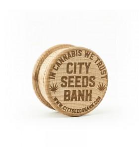Grinder in Legno 2 Parti City Seeds Bank