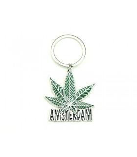 Portachiavi in Metallo Leaf Amsterdam