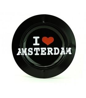 Posacenere in Metallo I Love Amsterdam