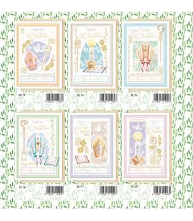 Biglietto Marpimar Cresima  Design con Foil conf. 12 pz. assortiti