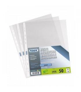 Buste Favorit foratura universale Liscia media formato 22 x 30 conf. 50 pz.
