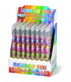 Penna mille colori Rainbow Profumate Expo 40 pz.