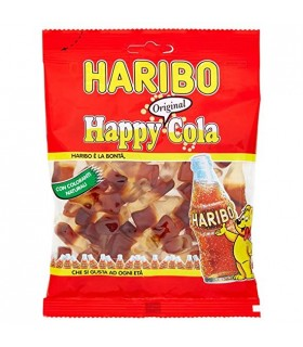 BUSTINA  HAPPY COLA HARIBO DA 100GR