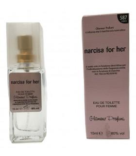 Profumo Glamour Narciso Rodriguez For Her da 15 ml