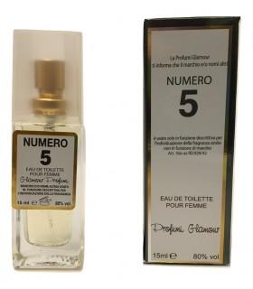 Profumo Glamour Chanel N°5 da 15 ml