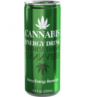 Cannabis Energy Drink Regular 250 ml conf. 12 lattine