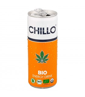 Cannabis Energy Drink Bio Chillo 250 ml conf. 12 lattine