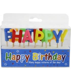 Candele Happy Birthday