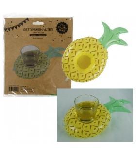 Portabibite Gonfiabile a Forma di Ananas