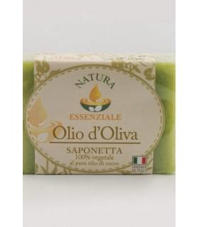 Saponetta Naturale Vegetale Oli Nutrienti 100g expo da 48 pz. assortito con 4 profumazioni