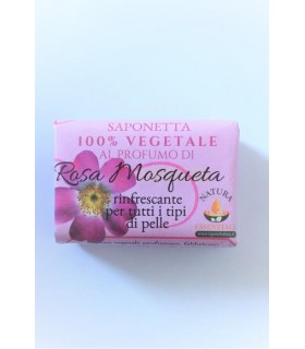 Saponetta Naturale Vegetale Rosa Mosqueta  100g