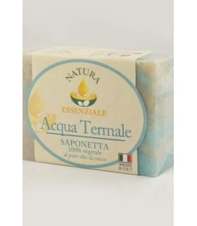 Saponetta Naturale Vegetale Acqua Termale  100g