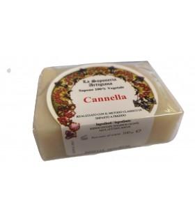 Saponetta Naturale Vegetale Cannella 100g