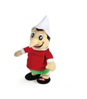 Pinocchio Peluche Ripetix Ripete tutto ciò che dici H.20 cm