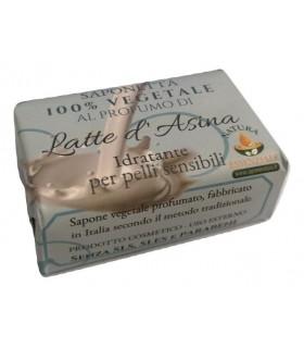 Saponetta Naturale Vegetale Latte d'Asina  100g