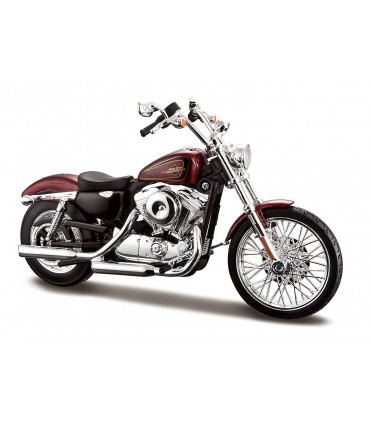 Moto Harley Davidson 2012 xl 1200v Seventy Two  Scala 1:12