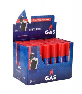 Gas Silver Match 60 ml conf. 24 pz.