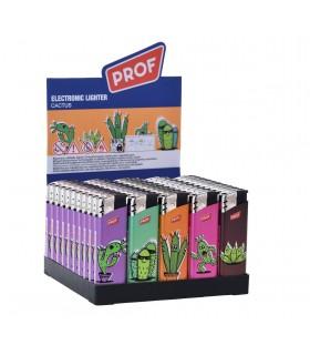 Accendino Elettronico Prof Cactus conf. 50 pz. assortito con 5 grafiche