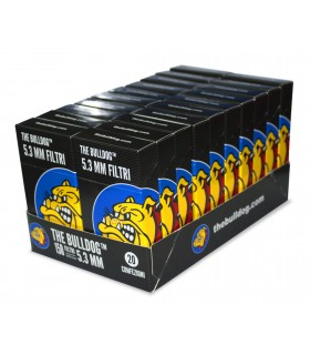 Filtri Pop a TIp 5.3mm THE BULLDOG conf. 20 pz.