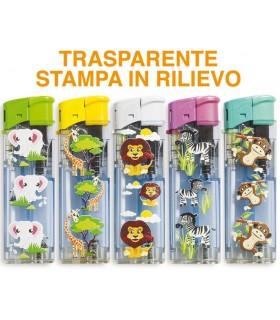Accendino Elettronico Ciao Savana conf. 50 pz. assortito con 5 grafiche