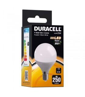 Lampadina Duracell a Led Passo Piccolo E14 Potenza 4 Watt REsa 25 Watt