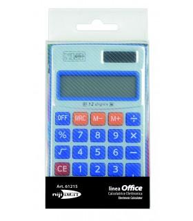 Calcolatrice Elettronica Niji 12 Cifre mis.6.5x11 cm