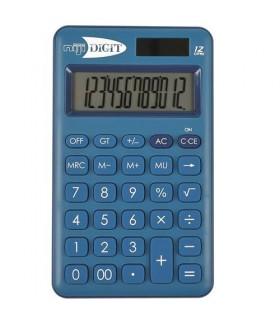 Calcolatrice Elettronica Niji 12 Cifre mis.7x11.8 cm