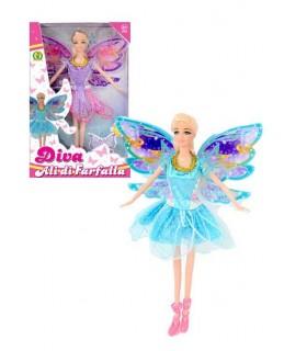 Bambola Diva Ali di Farfalla Mazzeo Giochi
