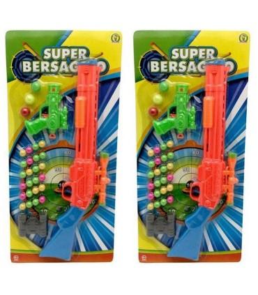 Super Bersaglio con Pistola e Fucile MAzzeo Giochi