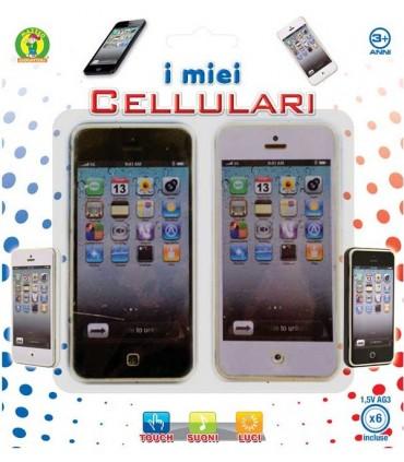 Blister 2 Cellulari Touch Suoni e Luci