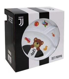 Set da Pasto per Bambini Fc Juventus composto da 5 pz.
