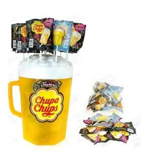 CHUPA CUPS TROPICAL POP CHAR EXPO DA 100 PZ.
