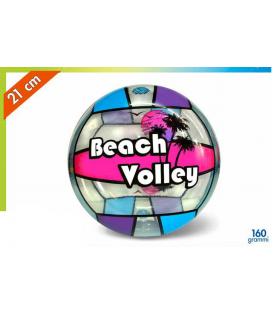 Pallone  Volley Trasparente in Plastica   Diam. 210 colori assortiti