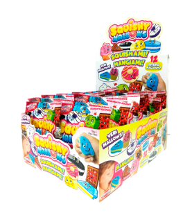 SQUISHY MALLOWS 30 GR PREZIOSI FOOD CONF. 24 PZ.