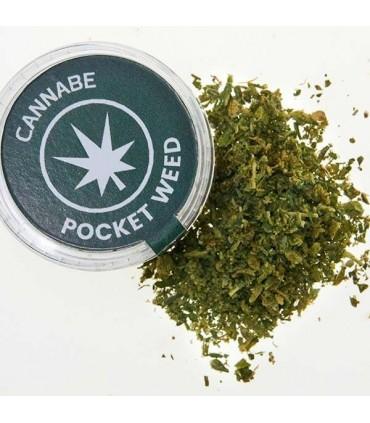 Infiorescenze di Cannabis Pocket da 0.3g in Dispenser da Banco da 45 pz.