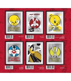 Biglietto Marpimar Metal Looney Tunes conf. 12 pz. assortiti