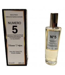 Profumo Glamour Chanel N°5 da 50 ml