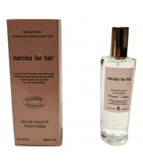 Profumo Glamour Narciso Rodriguez For Her da 50 ml