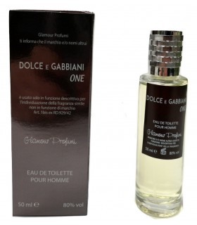 Profumo Glamour Ispirato a  Dolce e Gabbano The One da 50 ml