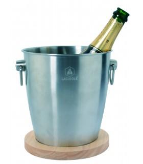 Secchie per Champagne con Base in Legno Laguiole