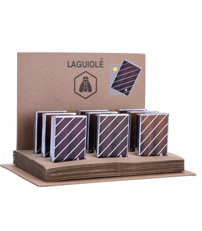 Accendino Laguiole con Ignitore e Carica USB Expo da 9 pz. colori assortiti
