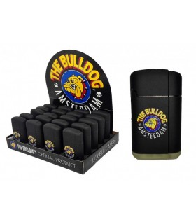 ACCENDINI CLIPPER THE BULLDOG LARGE BLACK + 1 SLIM BULLDOG CON FILTRI