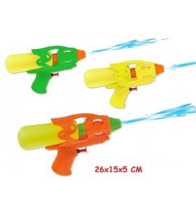 Supergetto Pistola ad Acqua cm. 19 Disponibile in 3 colori