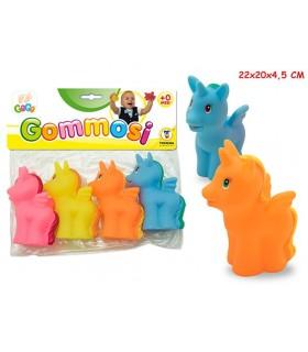 Unicorni Gommosi Busta da 4 pz.