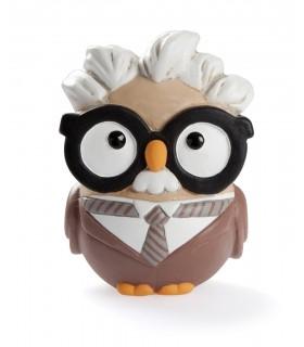 """Statua Goofi Egan in Ceramica """"Alfred Einstein"""" mis.8x10"""