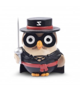 "Statua Goofi Egan in Ceramica ""Zorro"" mis.8x10"